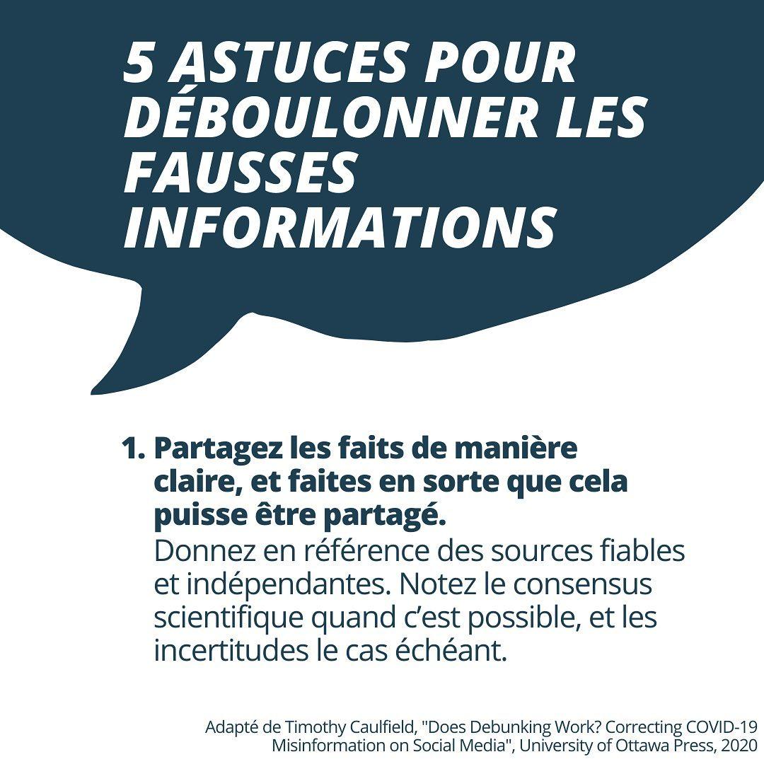 5 conseils pour combattre la désinformation