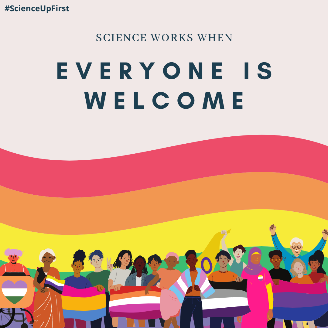 Science works whenever anyone is welcome