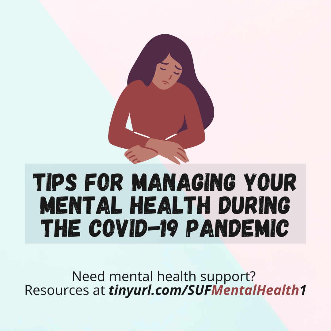 Tips for managing your mental health during the COVID-19 pandemic