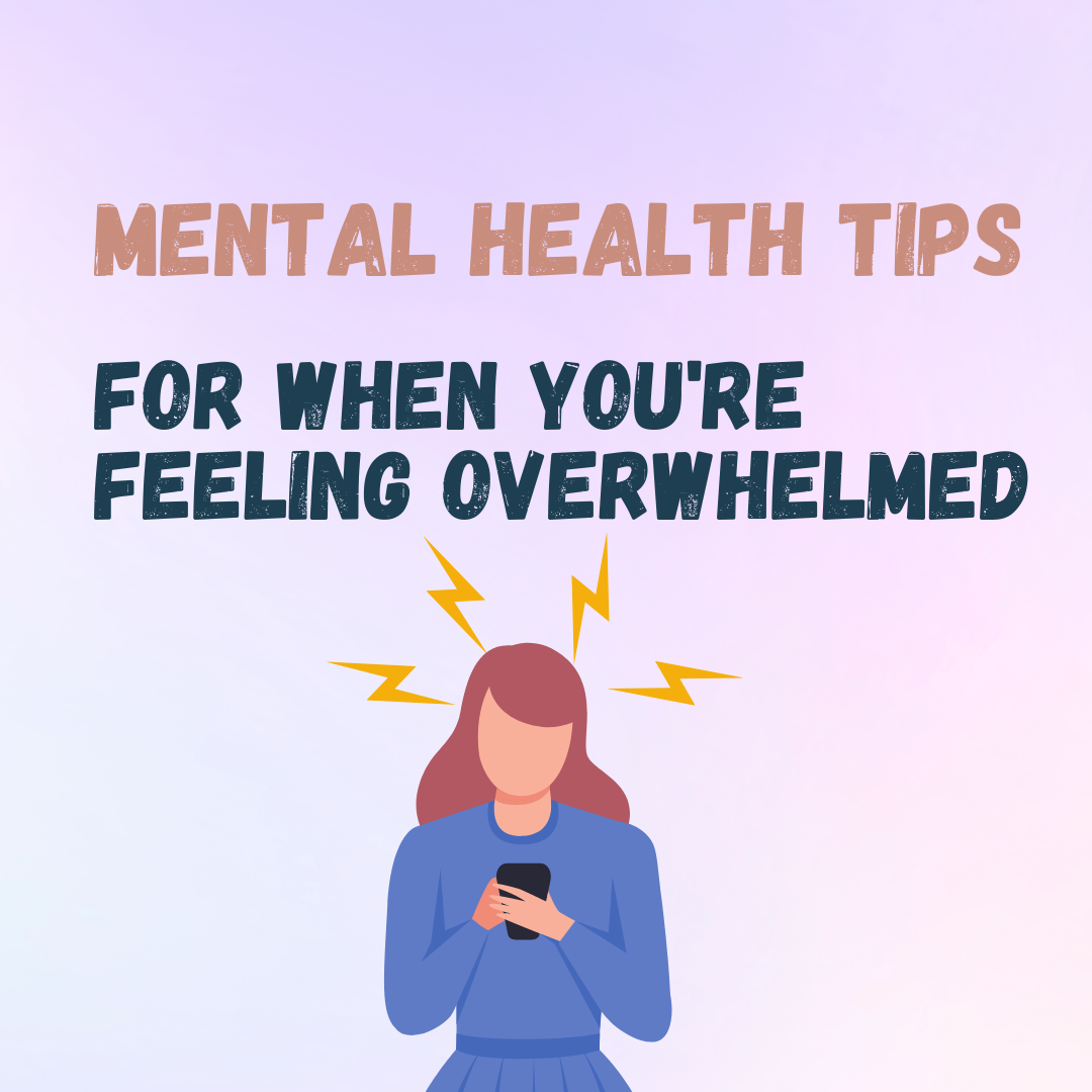 Have you been feeling OVERWHELMED lately?