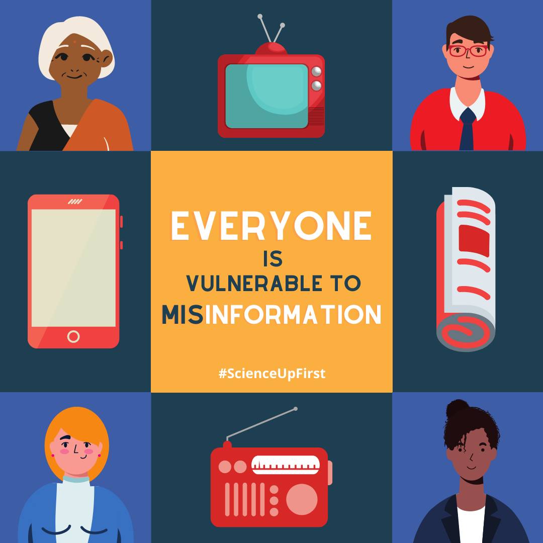 Everyone is susceptible to misinformation
