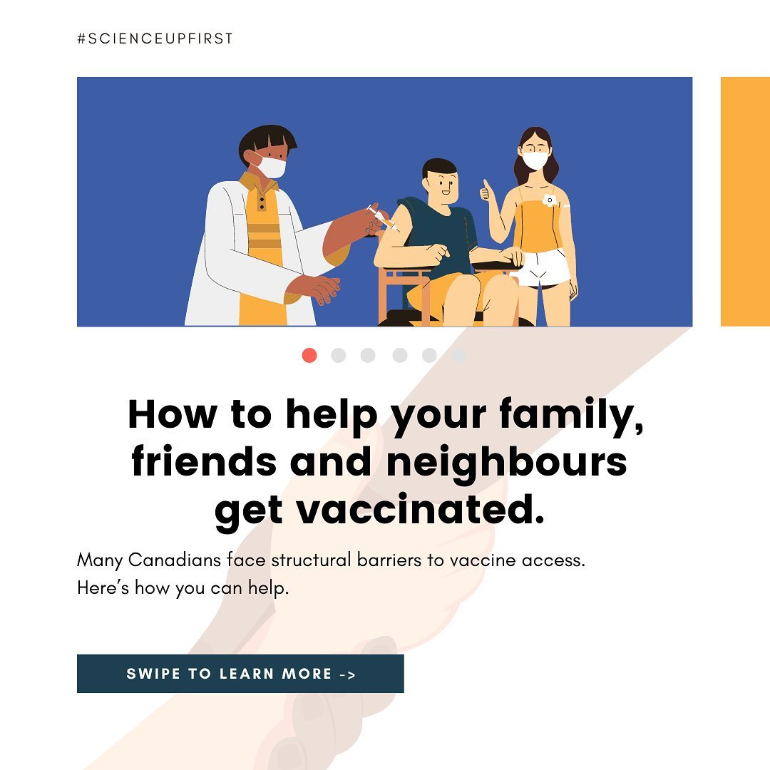 How to help your friends, family and neighbours get vaccinated
