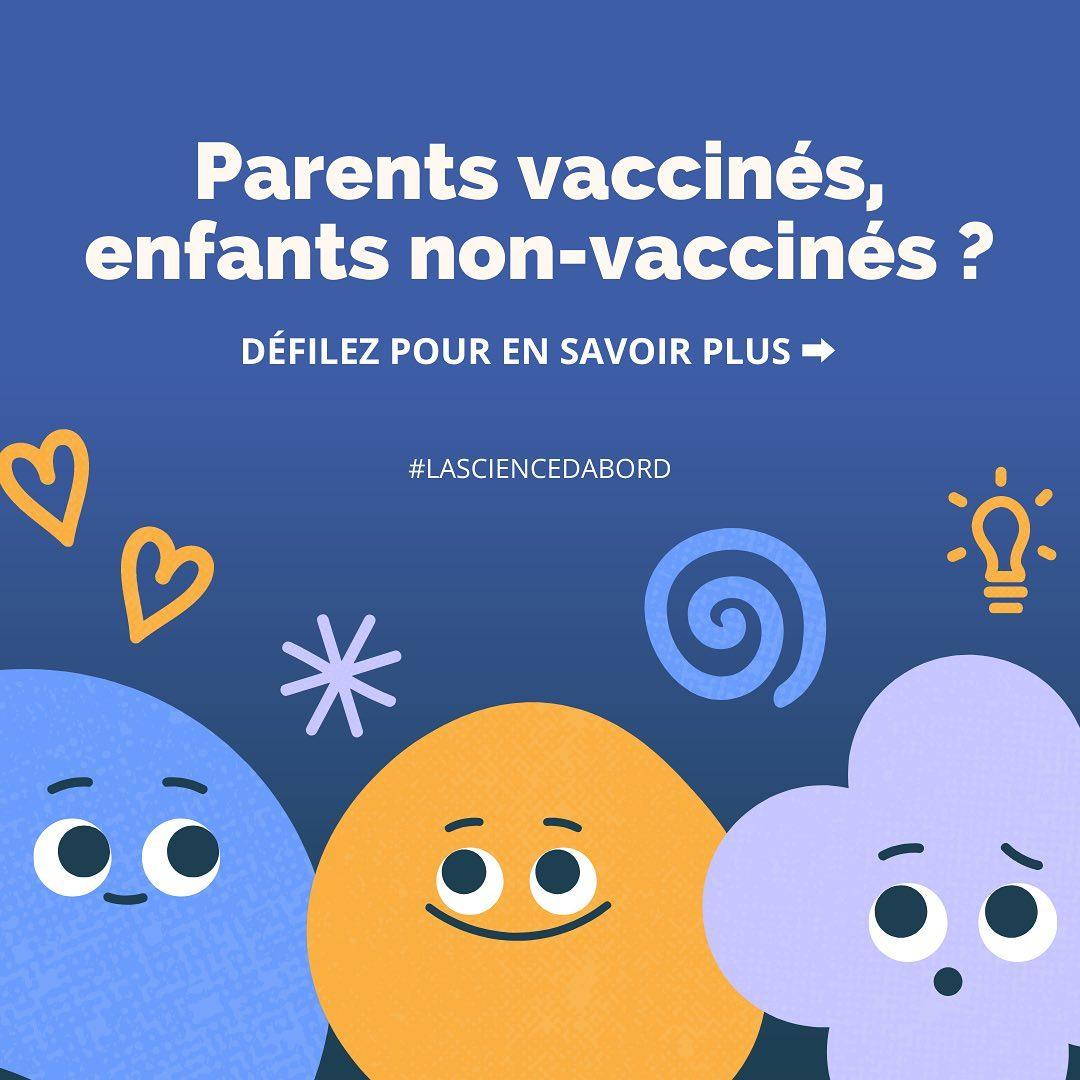 Parents vaccinés, enfants non-vaccinés?