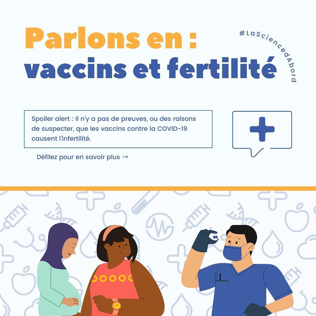 Parlons en: vaccine et fertilité