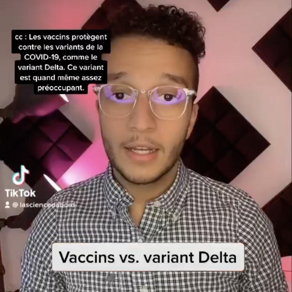Vaccins vs. variant Delta