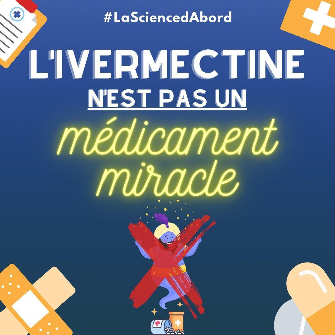 L'ivermectine n'est pas un médicament miracle