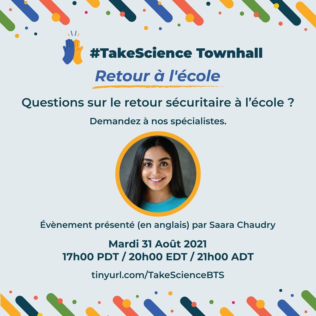 Groupe de parole #TakeScience: le 31 août