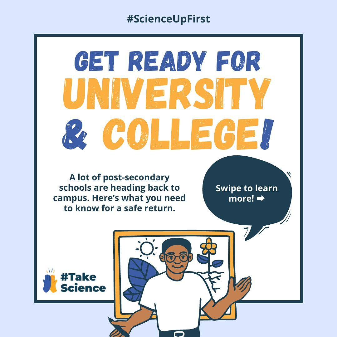 Get ready for University and College!