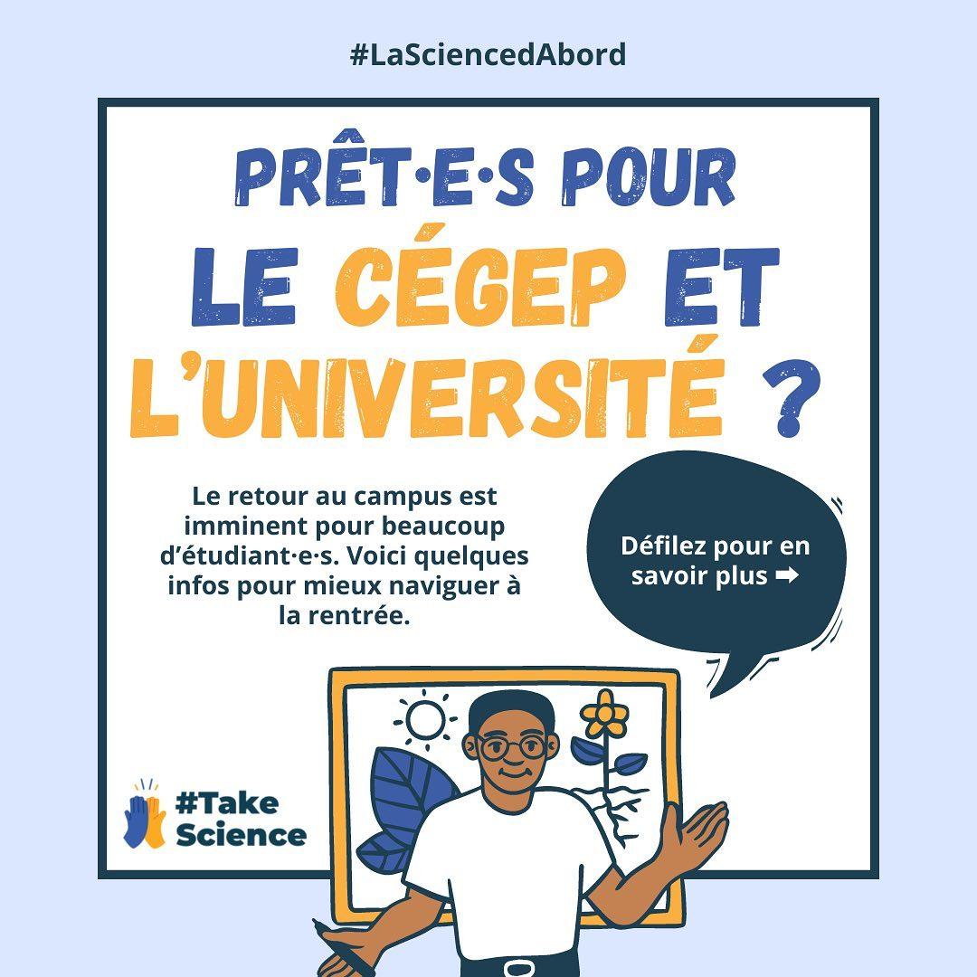 Prêt.e.s pour le Cégep et L'Université?