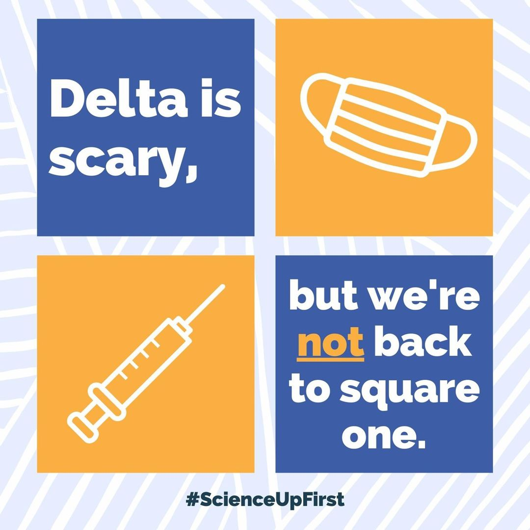 Delta is scary, but we're not back to square one.