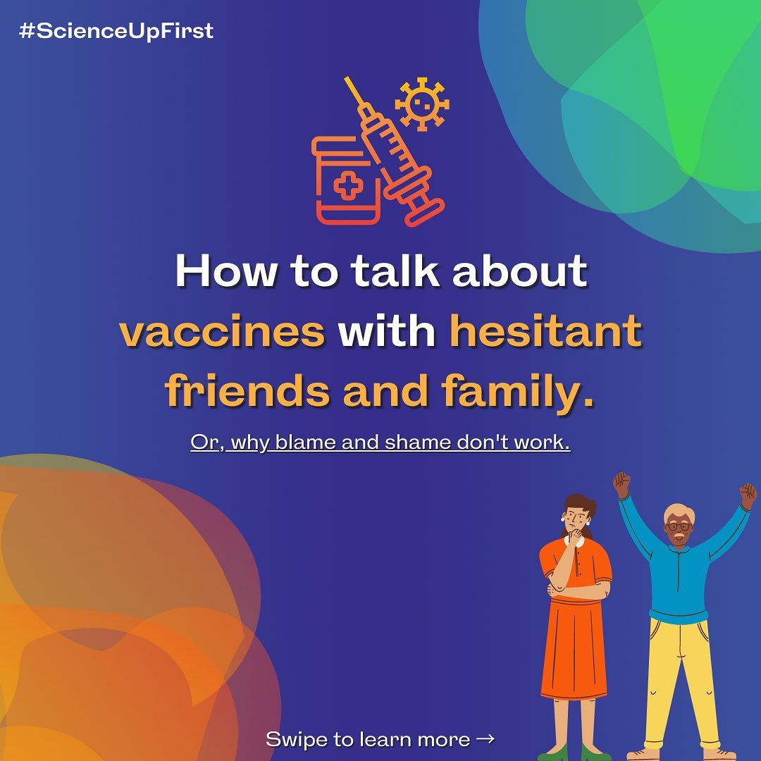 How to talk about vaccines with hesitant friends and family