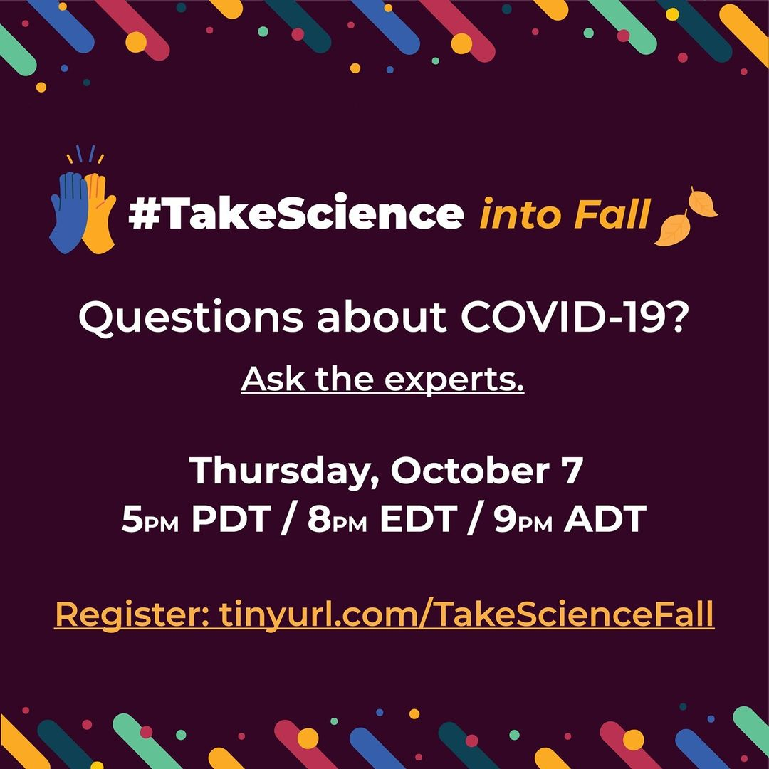 #TakeScience into Fall: October 7th