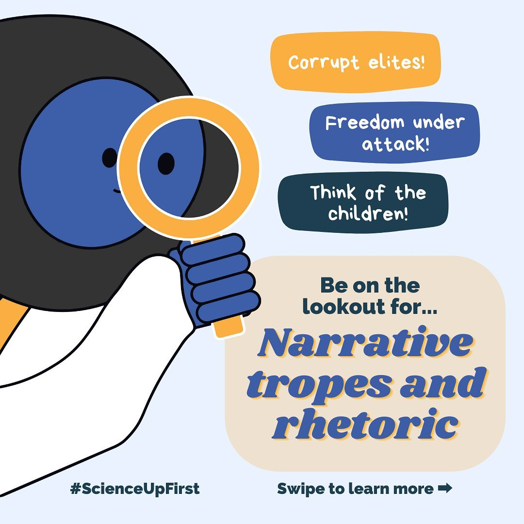 Look out for Narrative tropes & rhetoric