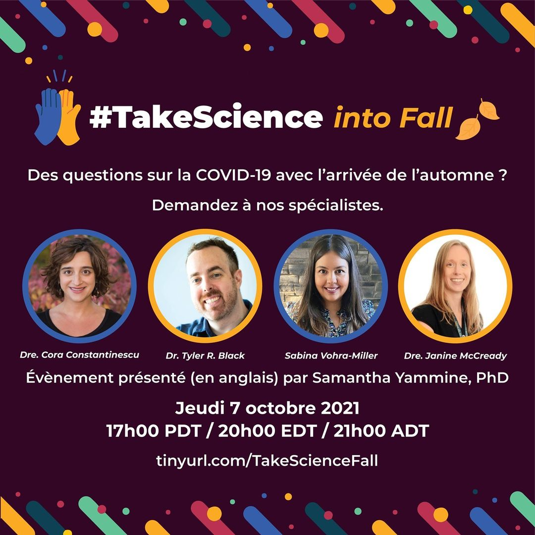 #TakeScience into Fall – les experts: le 7 octobre